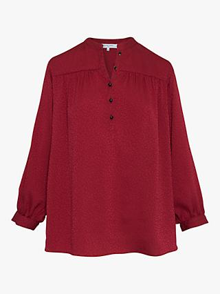 Gerard Darel Margot Blouse, Red