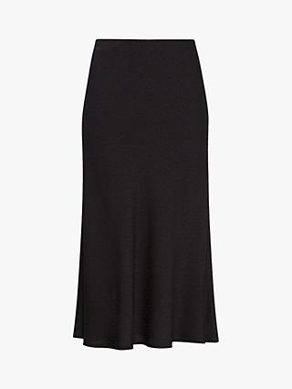Gerard Darel Tressy Flared Midi Skirt, Black