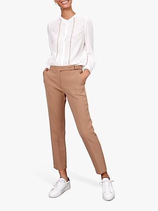 Gerard Darel Lyson Straight Trousers, Camel