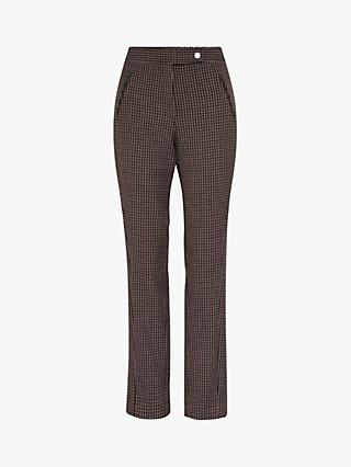 Gerard Darel Lune Check Trousers, Beige