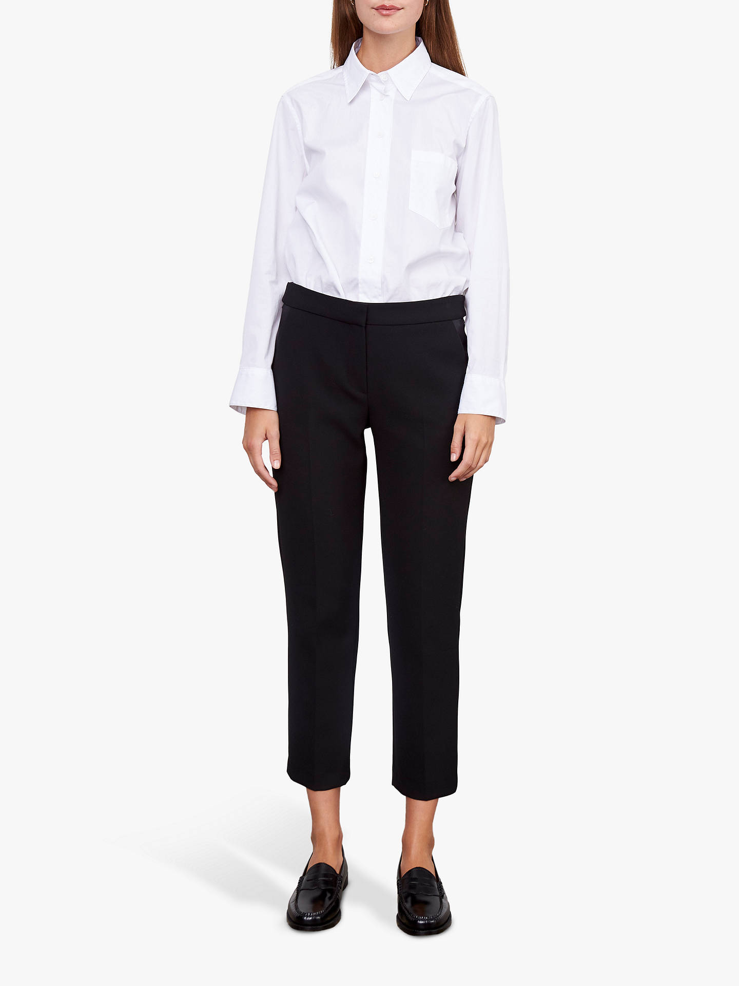 Buy Gerard Darel Lennie Trousers, Black, 6 Online at johnlewis.com