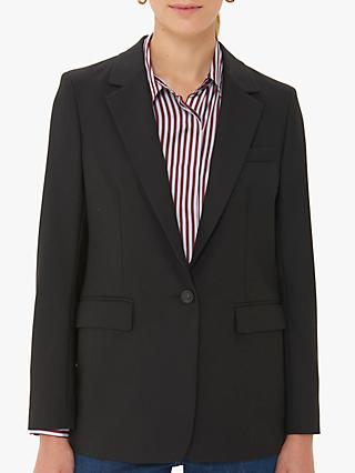 Gerard Darel Valentina Single Breasted Blazer, Black