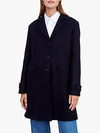 Gerard Darel Paloma Tailored Coat, Navy