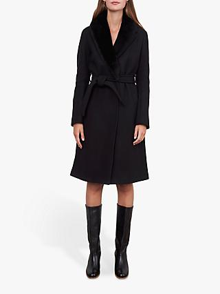 Gerard Darel Paxton Belted Wool Coat