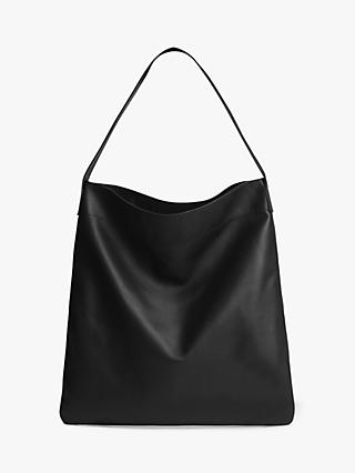 Gerard Darel Lady East/West Leather Tote Bag, Black
