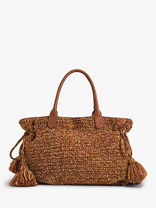Gerard Darel 24 Knitted Bag, Brown
