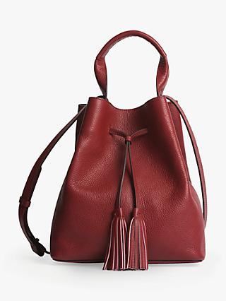 Gerard Darel Saxo Leather Shoulder Bag