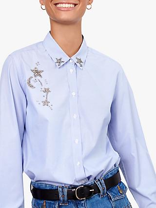 Gerard Darel Mae Blouse, Blue