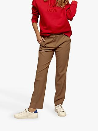 Gerard Darel Lova Wool Mix Trousers, Camel