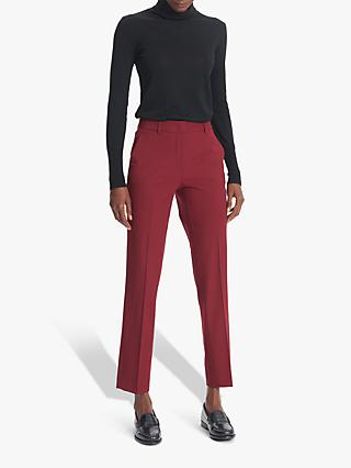 Gerard Darel Lova Wool Mix Trousers, Red
