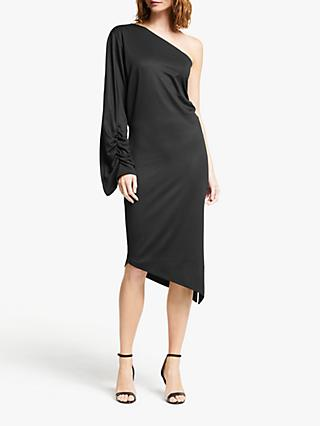 Modern Rarity Paula Knorr One Shoulder Dress, Black