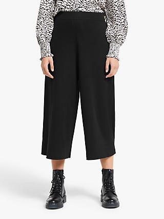 Somerset by Alice Temperley Intarsia Knit Culottes, Black