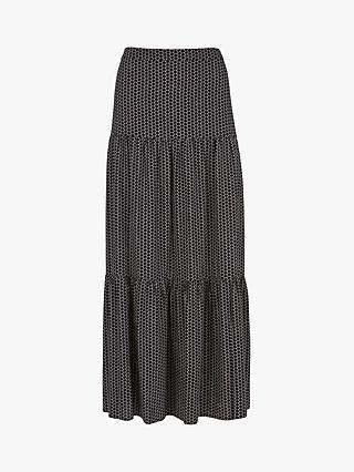 9c3303cb45 Mint Velvet Nola Print Boho Maxi Skirt, Multi