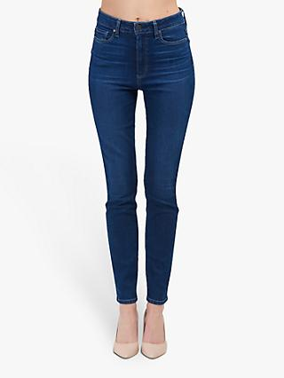 Paige Margot High Rise Ultra Skinny Jeans, Brentwood Mid Wash