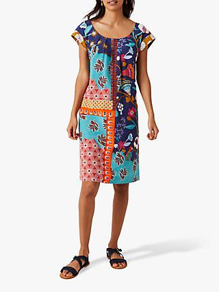 White Stuff Tropic Dress, Multi