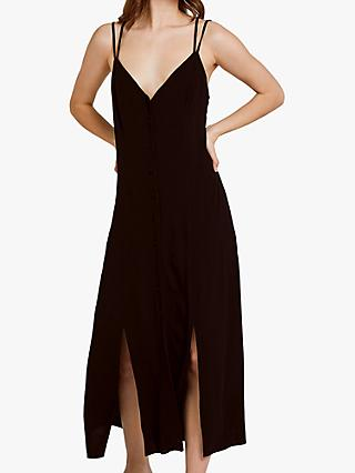 Ghost Thea Cross Back Slip Dress
