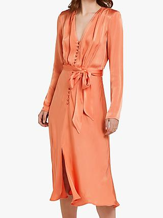 3f0512fa6b37 Ghost   Orange   Women's Dresses   John Lewis & Partners