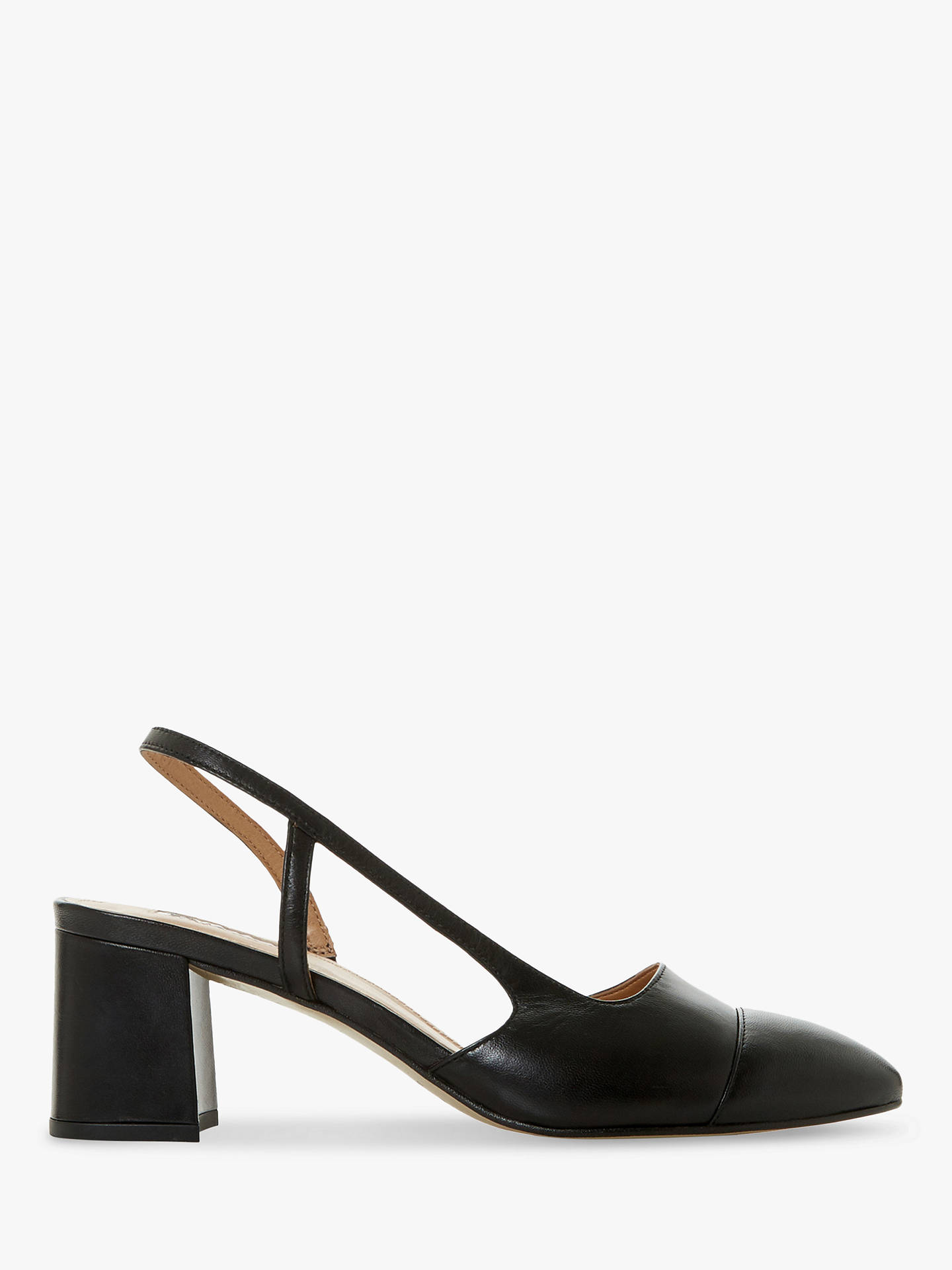 dune-croft-leather-pointed-toe-court-shoes,-black by dune