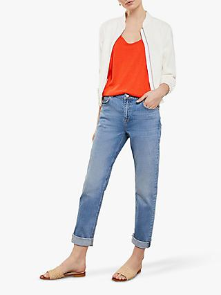 Mint Velvet Dakota Jeans, Light Indigo