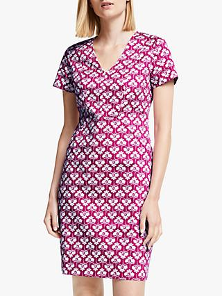Boden Dana Chino Dress, Vibrant Plum