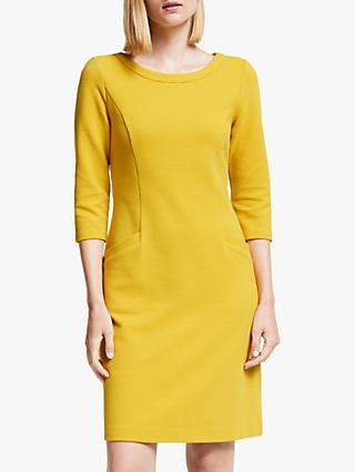 Boden Jasmine Ottoman Dress, Saffron