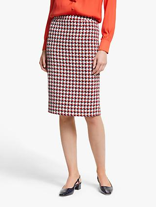 Boden Clara Pencil Skirt, Red