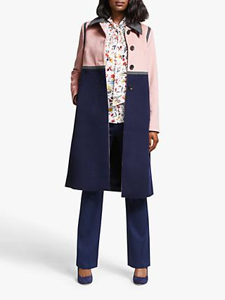 Boden Lovelace Coat, Navy