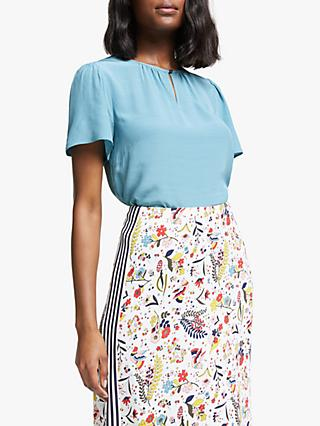 Boden Phoebe Top, Blue
