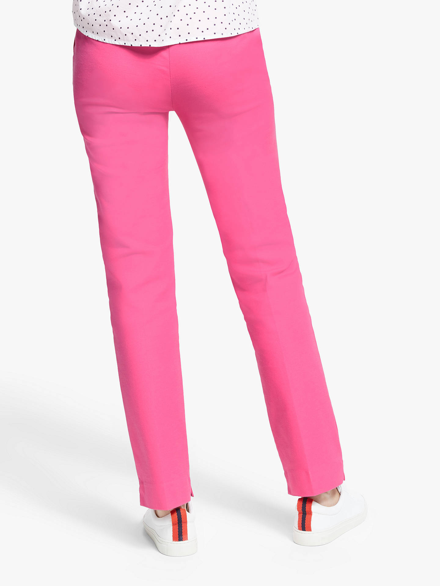 Buy Boden Richmond Trousers, Party Pink, 16 Online at johnlewis.com