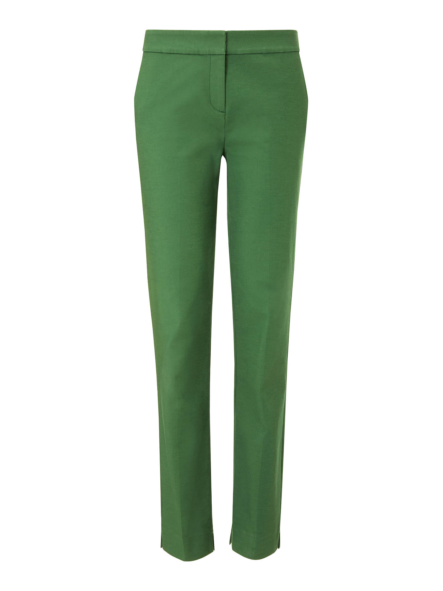 Buy Boden Richmond Trousers, Broad Bean, 12 Online at johnlewis.com