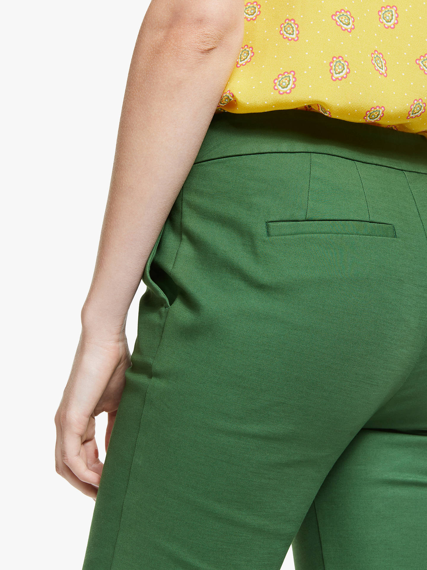 Buy Boden Richmond Trousers, Broad Bean, 8 Online at johnlewis.com