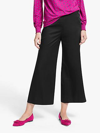 Boden Bray Culotte Trousers, Black