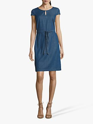 Betty & Co. Denim Shift Dress, Blue Denim