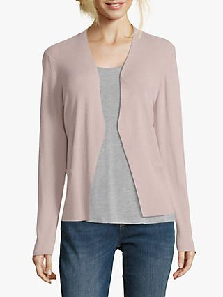 Betty & Co Fine Knit Cardigan, Misty Light Rose