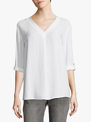 Betty & Co V-Neck Blouse, Bright White