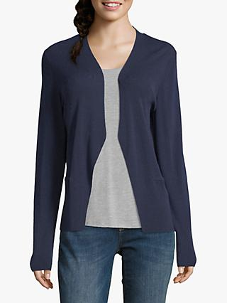 Betty & Co Fine Knit Cardigan, Navy Blue