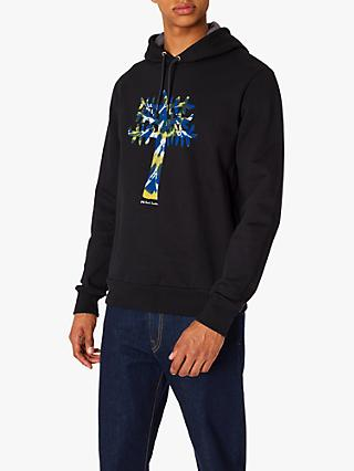 Paul Smith Tree Print Hoodie, Black