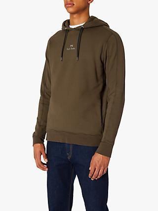 PS Paul Smith Damson Garment Dyed Hoodie, Khaki