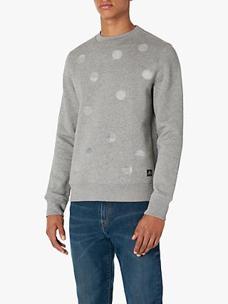 PS Paul Smith Punch Spot Sweatshirt, Grey