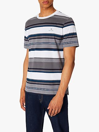 PS Paul Smith Woven Stripe Logo T-Shirt