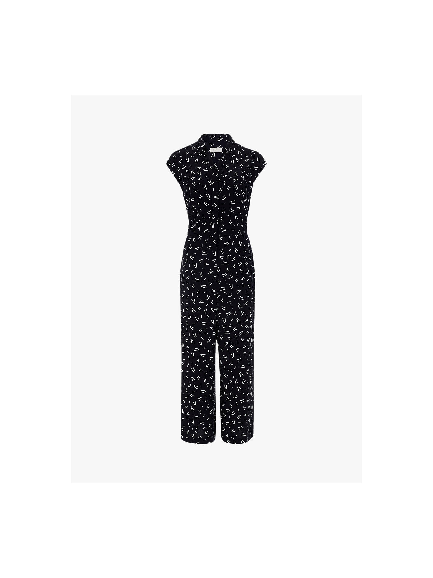 laest technology best collection official shop Hobbs Belinda Jumpsuit, Navy/Ivory