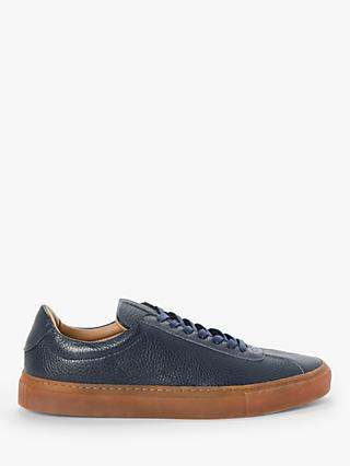 John Lewis & Partners Finney Leather Trainers