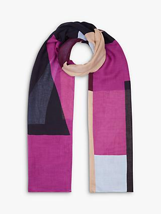 Hobbs Nicole Colour Block Scarf, Multi