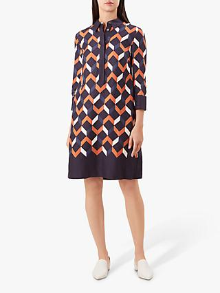 Hobbs Aubery Dress, Multi