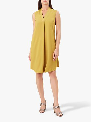 Hobbs Davina Dress, Citron Yellow