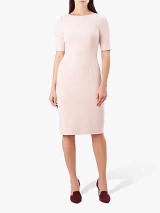 Hobbs Annabeth Dress, Pale Pink