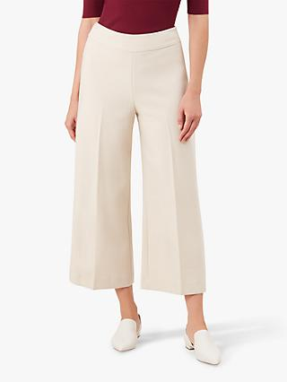 Hobbs Dakota Cropped Trousers, Neutral