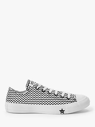 Converse Chuck Taylor All Star Mission Low-Top Trainers, Black/White
