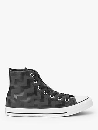 Converse Chuck Taylor All Star Canvas High-Top Trainers, Black