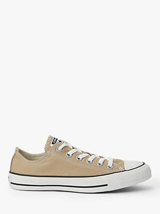 Converse Chuck Taylor All Star Canvas Ox Low-Top Trainers, Desert Khaki